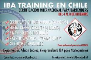 IBA TRAINING EN CHILE